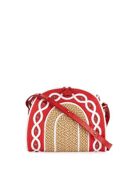 Eric Javits | Multicolor Lil Jiva Woven Straw Shoulder Bag | Lyst