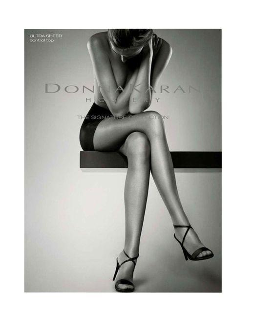 Donna Karan   Metallic Signature Ultra Sheer Control Top   Lyst