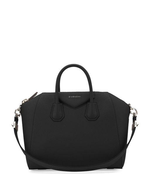 Givenchy - Black Antigona Medium Leather Satchel Bag - Lyst