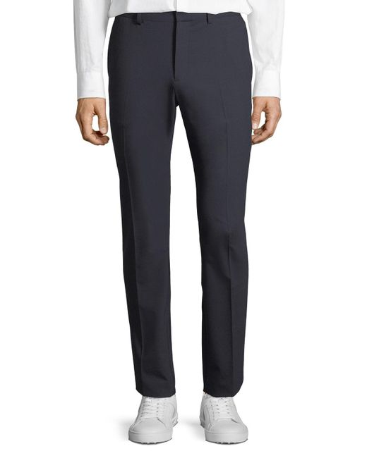 Theory - Blue Men's Mayer New Tailored Wool Pant for Men - Lyst