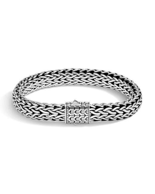 John Hardy - Metallic Men's Classic Chain Bracelet W/ Sterling Silver for Men - Lyst