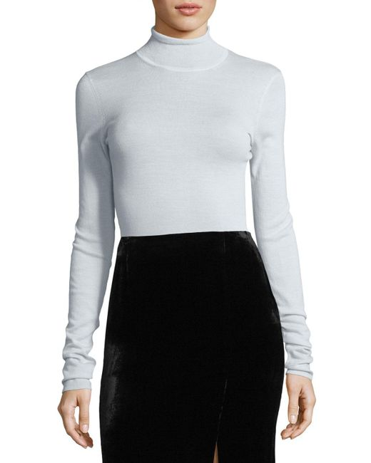 Jason wu Lightweight Turtleneck Sweater | Lyst