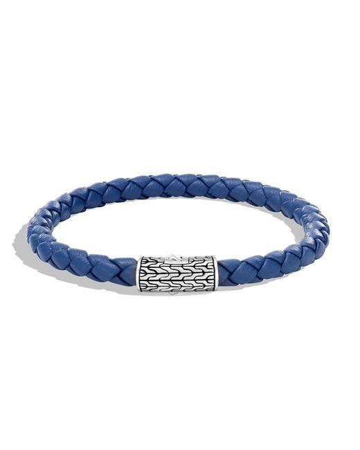 John Hardy - Blue Men's Classic Chain Woven Bracelet for Men - Lyst
