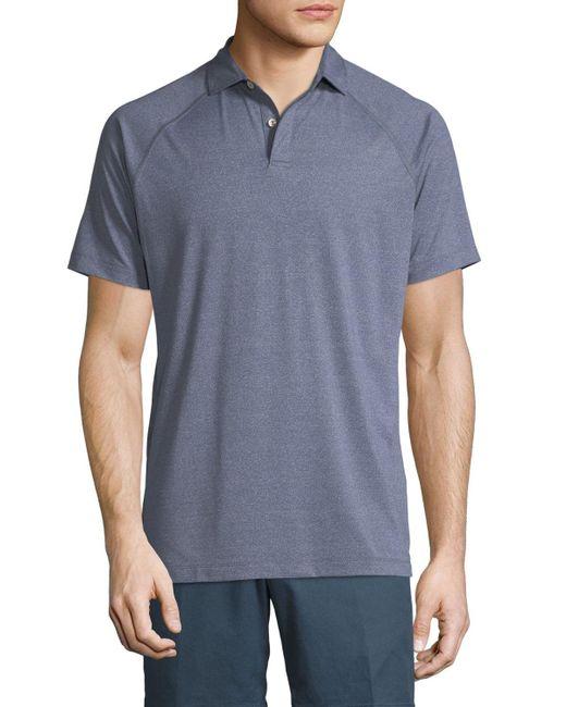 Peter Millar - Green Amsterdam Technical Polo Shirt for Men - Lyst