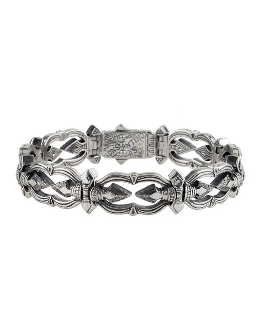 Konstantino | Metallic Men's Sterling Silver Link Bracelet for Men | Lyst