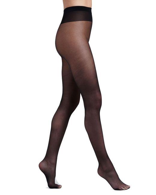 Wolford - Black Individual 10 Pantyhose - Lyst