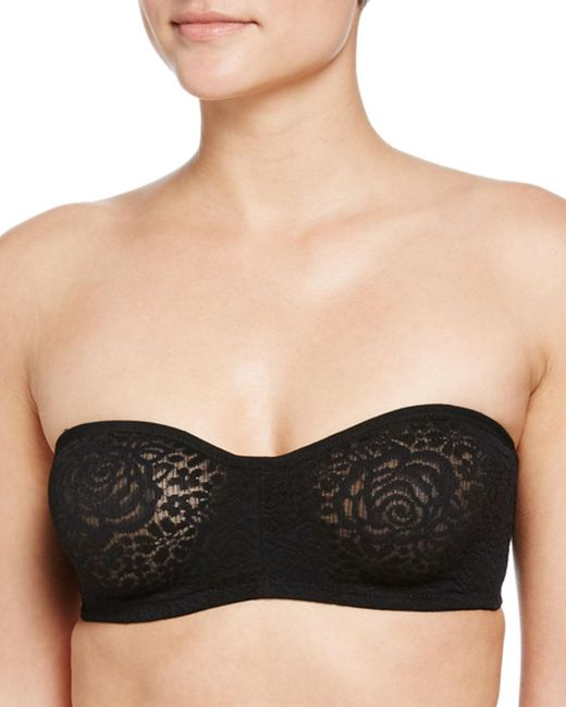 Wacoal - Natural Halo Lace Strapless Bra - Lyst