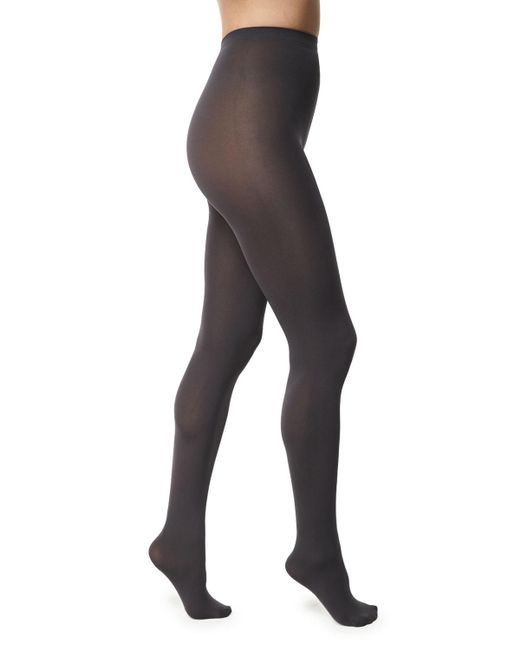 Wolford - Gray Matte Opaque 80 Tights - Lyst