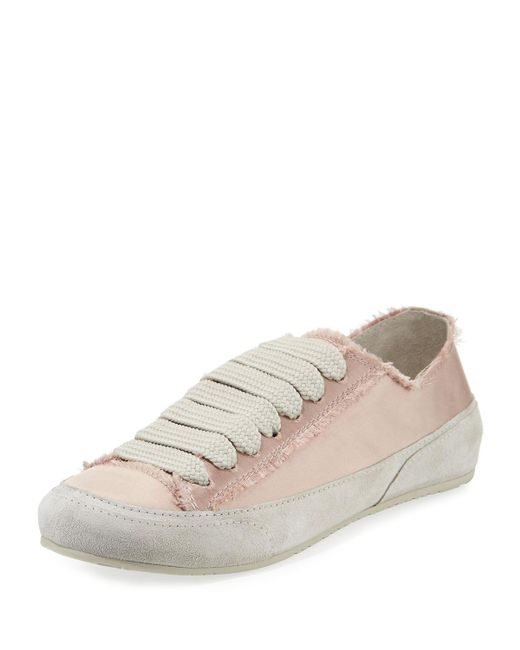 Pedro Garcia - Multicolor Parson Satin Low-top Lace-up Sneakers - Lyst