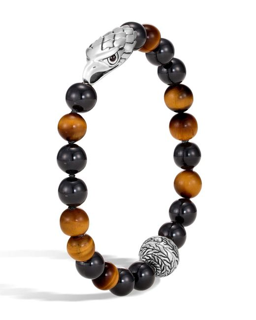 John Hardy - Multicolor Men's Legends Eagle Bead Bracelet for Men - Lyst