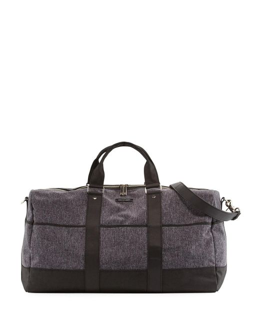 Hook + Albert | Gray Canvas Gym Duffel Bag for Men | Lyst