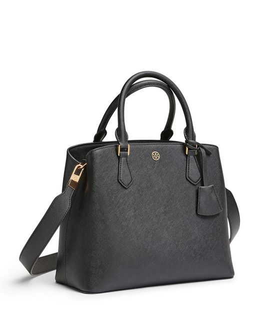 Tory Burch - Black Robinson Triple-compartment Tote - Lyst