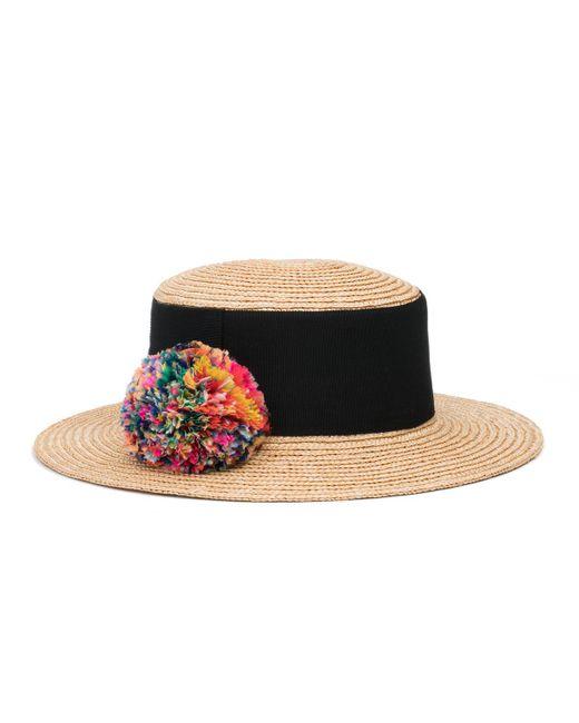 Eugenia Kim - Multicolor Brigitte Straw Boater Hat - Lyst