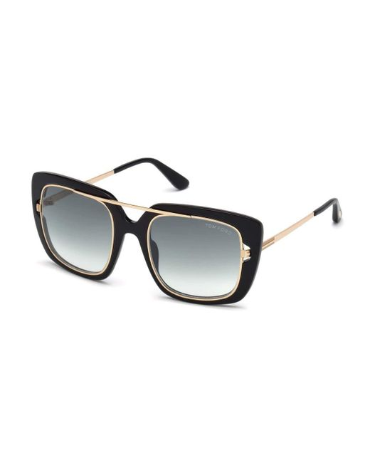 Tom Ford - Black Marissa 02 Double Frame Square Sunglasses - Lyst