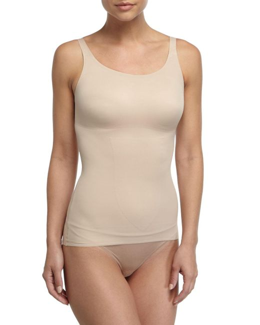 Tc Fine Intimates - Natural Just Enough Seamless Camisole - Lyst