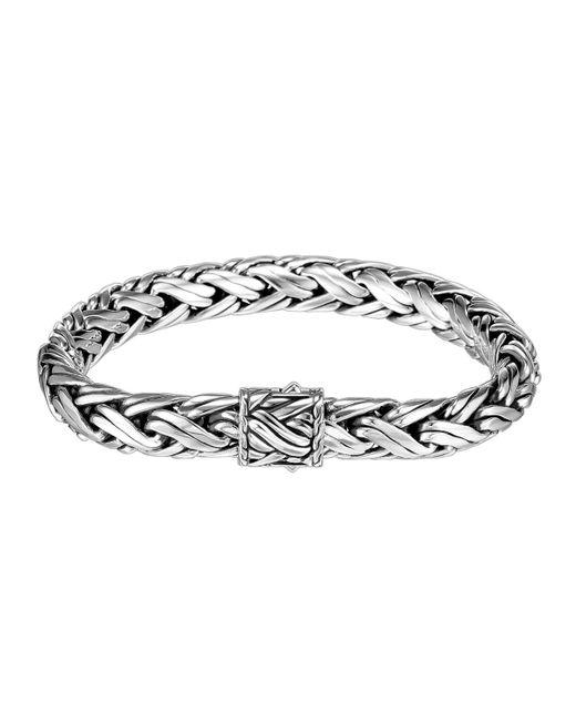 John Hardy - Metallic Medium Woven Chain Bracelet for Men - Lyst