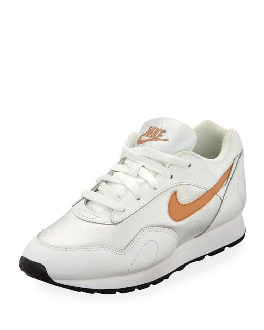 new product 0b89d bb257 Nike - Outburst W Women s Shoes (trainers) In White - Lyst