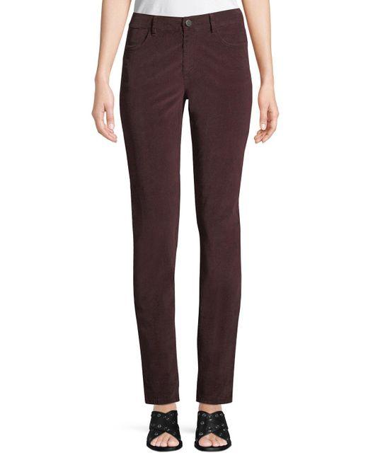 Lafayette 148 New York - Purple Thompson Corduroy Skinny Jeans - Lyst
