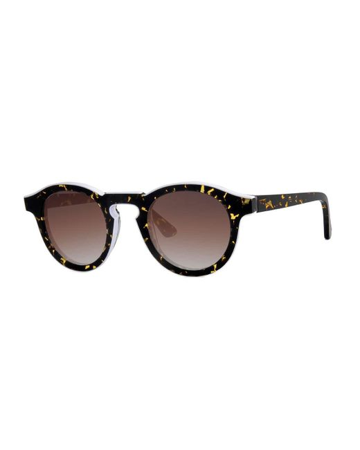 Thierry Lasry | Brown Courtesy Round Sunglasses | Lyst