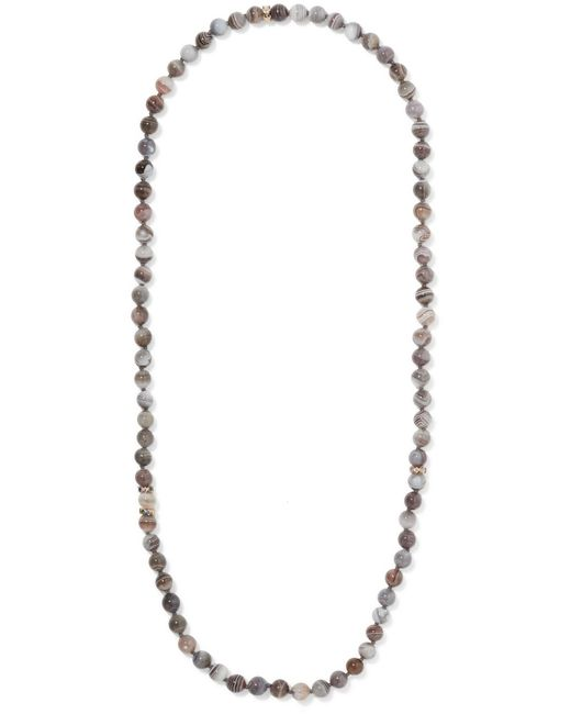 Carolina Bucci - Metallic Recharmed Multi-stone Necklace - Lyst