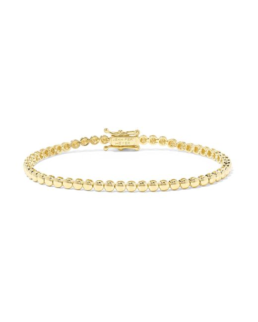 Jennifer Meyer - Metallic 18-karat Gold Bracelet Gold One Size - Lyst