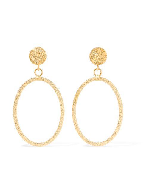 Carolina Bucci - Metallic 18-karat Gold Earrings - Lyst