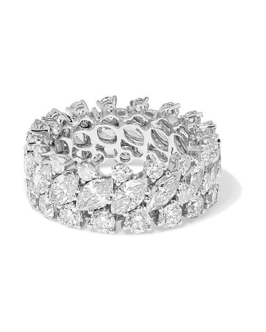 Anita Ko - Metallic 18-karat White Gold Diamond Ring - Lyst