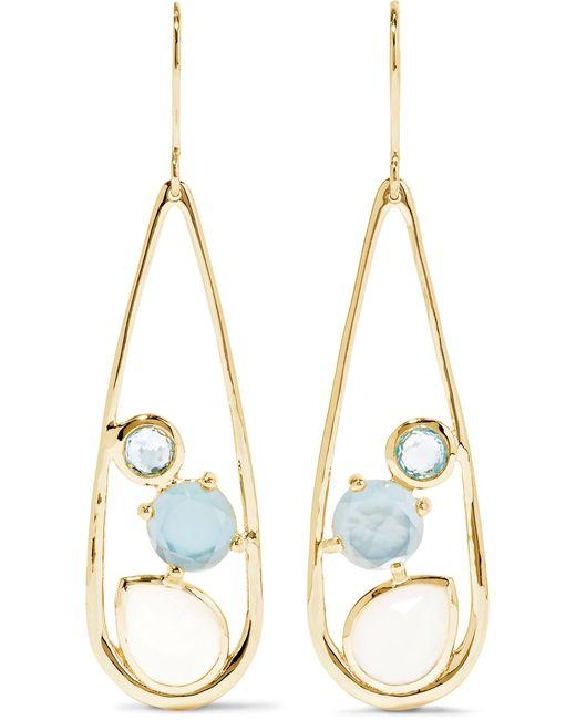 Ippolita | Metallic Rock Candy 18-karat Gold Multi-stone Earrings | Lyst