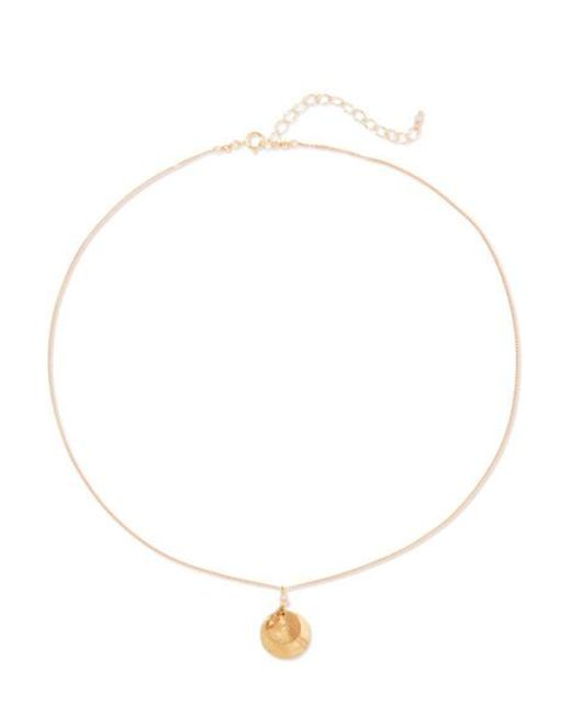 Chan Luu - Metallic Gold-tone And Crystal Necklace - Lyst