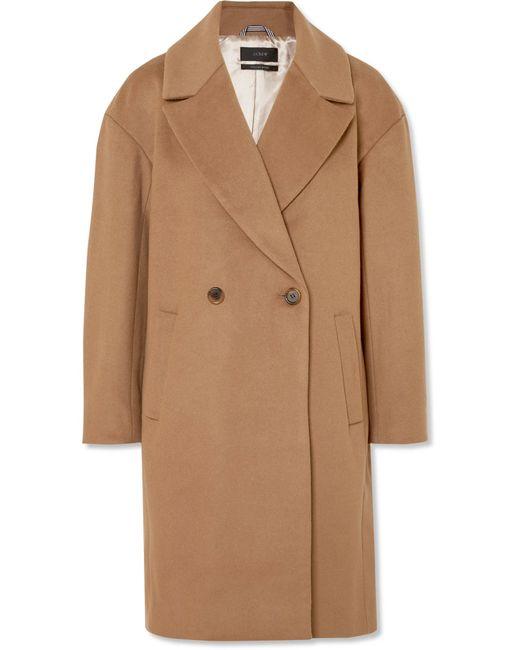 J.Crew - Natural Maxine Wool-blend Coat - Lyst
