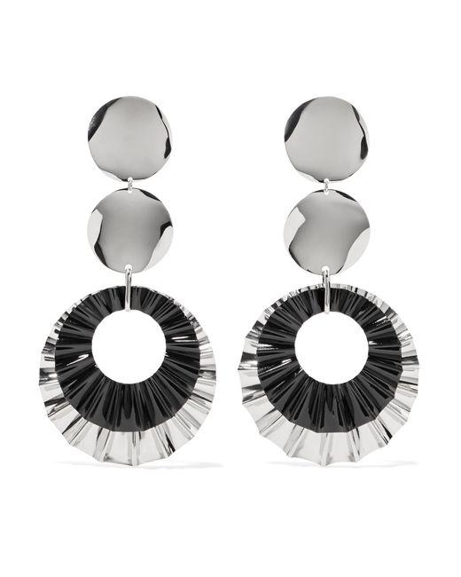 Isabel Marant - Metallic Silver-plated Earrings - Lyst
