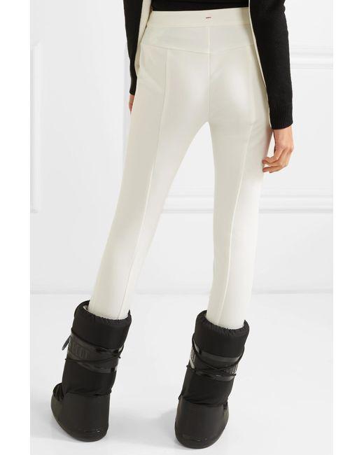 ... Moncler Grenoble - White Stretch-twill Stirrup Ski Pants - Lyst ... f74b1516d
