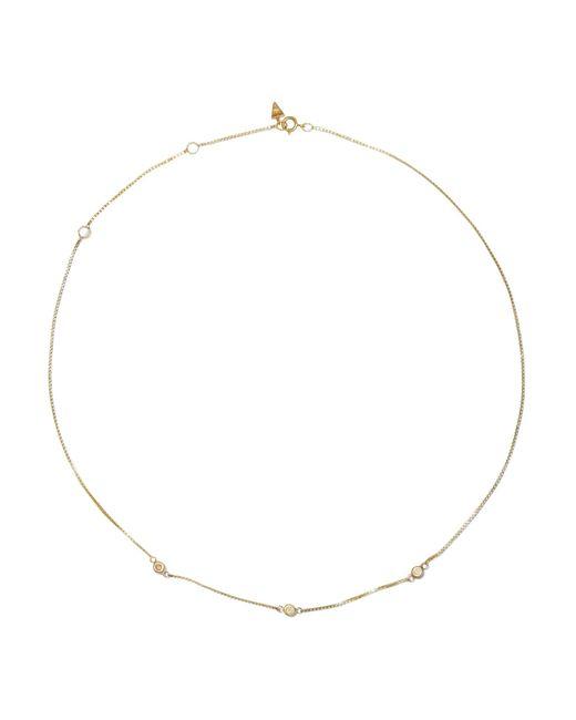 Loren Stewart - Metallic Fairy Floss 9-karat Gold Diamond Choker - Lyst