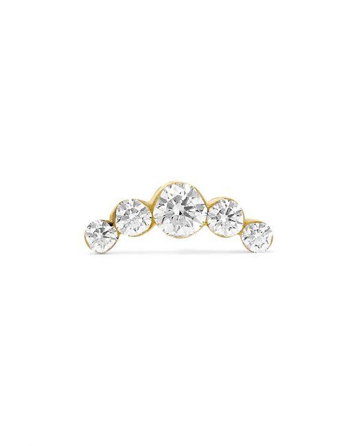 Maria Tash - Metallic 18-karat Gold Diamond Earring - Lyst