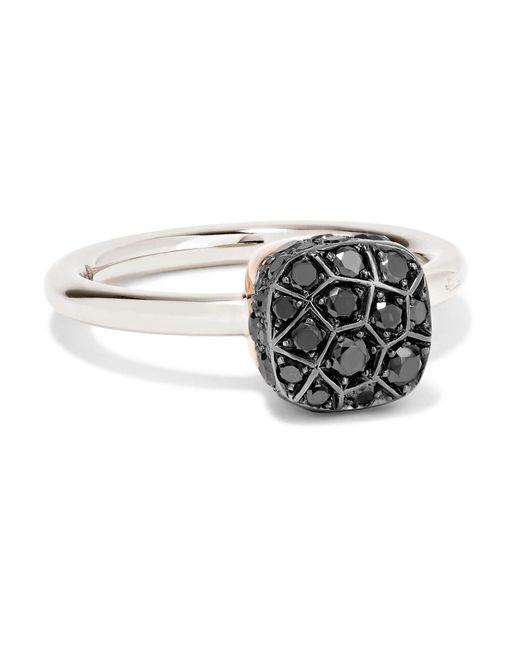 Pomellato - Metallic Nudo 18-karat White Gold Diamond Ring - Lyst