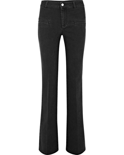 Altuzarra - Black High-rise Flared Jeans - Lyst