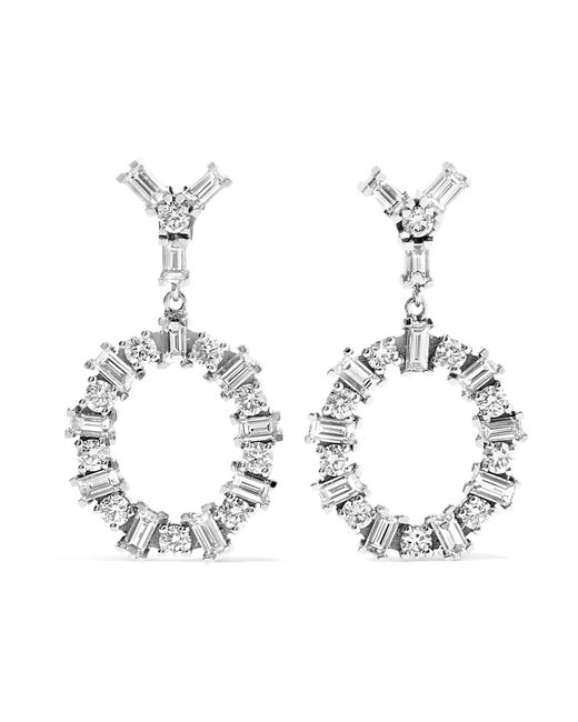 Ileana Makri | Multicolor Again 18-karat White Gold Diamond Earrings | Lyst