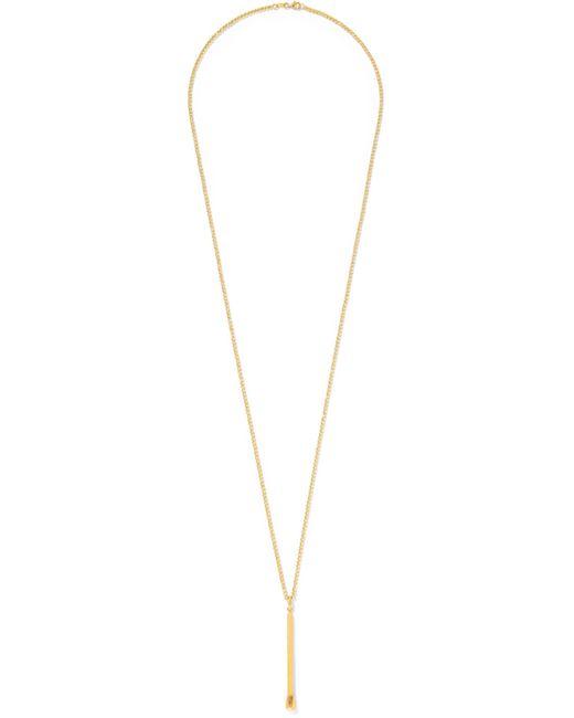 Carolina Bucci - Metallic Matchstick 18-karat Gold Necklace - Lyst