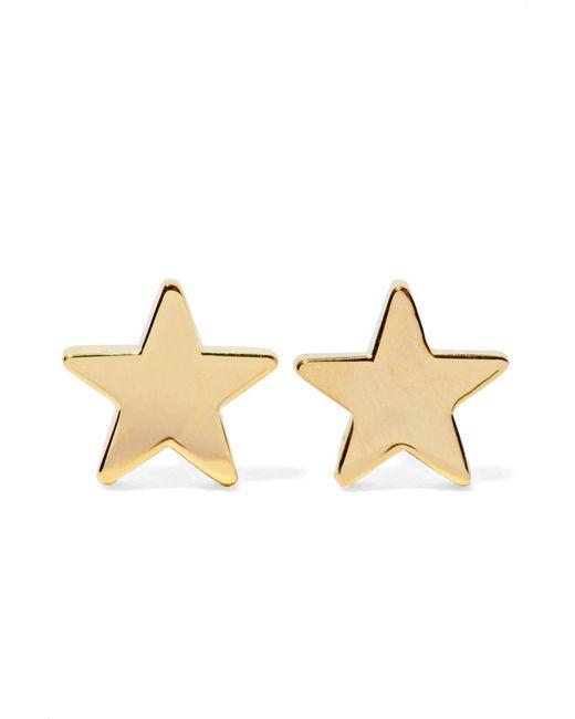 Jennifer Meyer - Metallic Star 18-karat Gold Earrings Gold One Size - Lyst