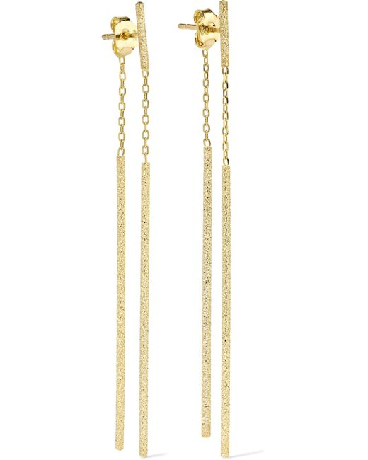 Carolina Bucci - Metallic Double Magic Wand 18-karat Gold Earrings - Lyst