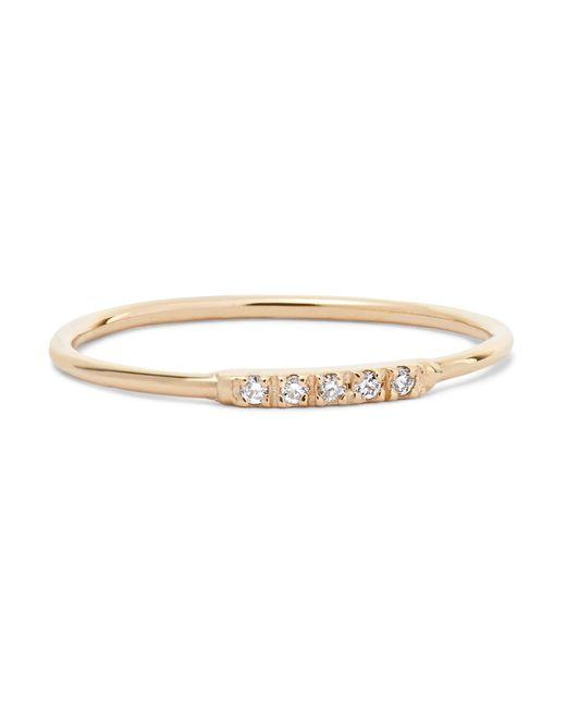 Loren Stewart - Metallic 14-karat Gold Diamond Ring Gold 6 - Lyst