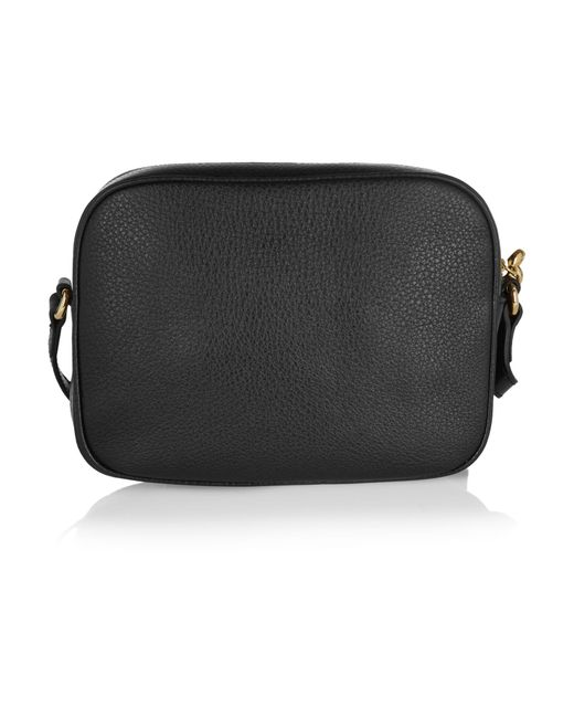 37ecdcc28018 ... Gucci - Black Soho Small Leather Disco Bag - Lyst ...