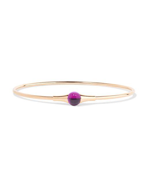 Pomellato - Pink M'ama Non M'ama 18-karat Rose Gold Amethyst Bracelet - Lyst