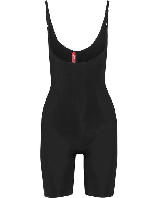 Spanx - Black Thinstincts Bodysuit - Lyst
