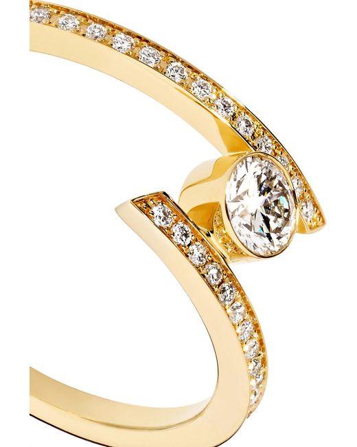 Sophie Bille Brahe Grand Amour 18-karat Gold Diamond Ring sdIYW