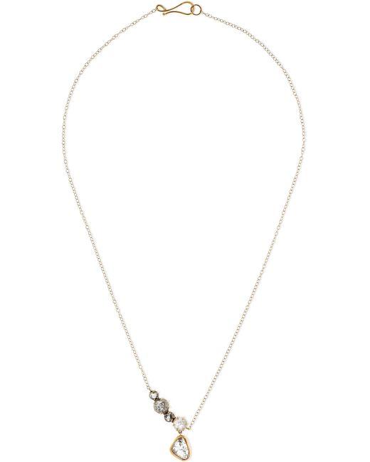 Melissa Joy Manning - Metallic 18-karat Gold Diamond Necklace - Lyst