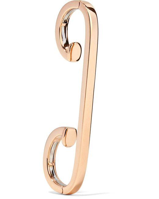 Repossi - Metallic Staple 18-karat Rose Gold Ear Cuff - Lyst