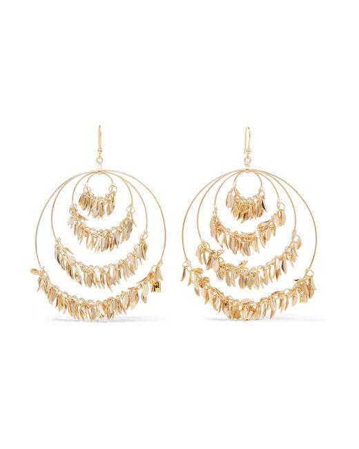 Rosantica - Metallic Stella Gold-tone Earrings - Lyst