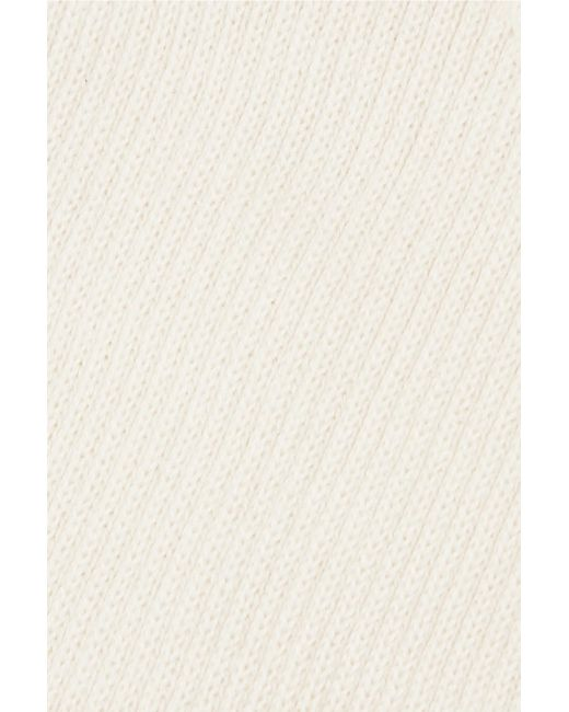 e2ccb49b1d ... Orseund Iris - Natural Ribbed-knit Corset - Lyst