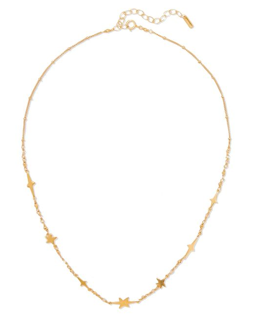 Chan Luu | Metallic Gold-plated, Swarovski Crystal And Bead Necklace | Lyst